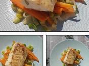 cabillaud carottes poireaux