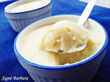 Flan au citron sans oeufs et sans produits laitiers/Dairy free, eggless lemon flan