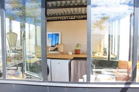 aménagement terrasse décoration atelier verrière