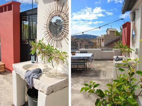 aménagement terrasse décoration peinture extérieure