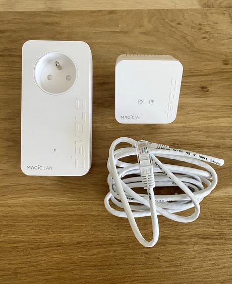 avis wifi lent solution installation relai Devolo Magic 1 mini