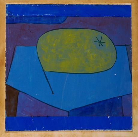 Paul Klee, Beulen Birne, 1934, gouache sur papier, 21 X 21,6 cm.