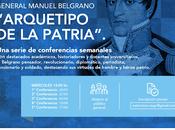 Programme conférences ligne l'œuvre Manuel Belgrano l'affiche]