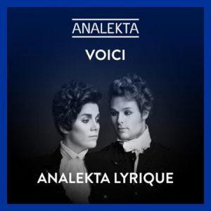 Analekta « bleu » et lyrique, un message des résidents et résidentes de l'Atelier lyrique de l'Opéra de Montréal et « Le Petit Festival » d'ICI Musique » avec Yannick Nézet-Séguin