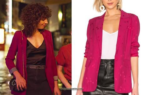 VALERIA : le blazer rose de Lola dans l'épisode 1
