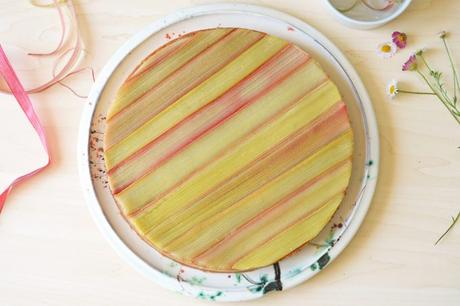 tarte rhubarbe conticini sans gluten