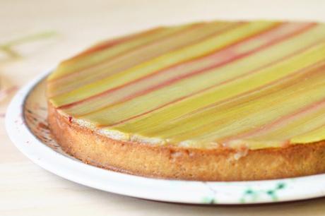 tarte rhubarbe sans gluten conticini