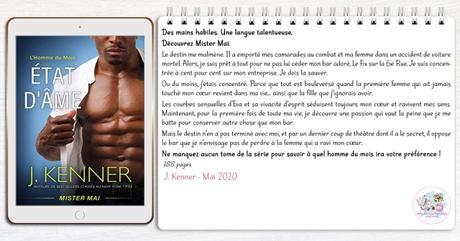 L'homme du mois #5 – État d'âme : Mister Mai – J. Kenner