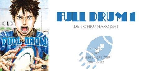 Full drum #1 • Tohru Hakoishi