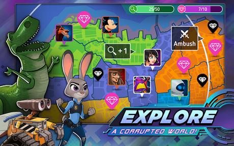 Télécharger Gratuit Disney Heroes: Battle Mode APK MOD (Astuce) 5