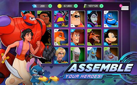 Télécharger Gratuit Disney Heroes: Battle Mode APK MOD (Astuce) 2