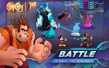 Télécharger Gratuit Disney Heroes: Battle Mode APK MOD (Astuce) 1