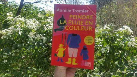 Peindre la pluie en couleur Aurélie Tramier happybook happy manda chronique littéraire livre addict