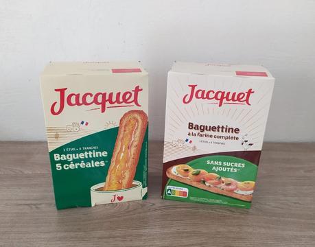 Baguettine à la farine complète et 5 céréales JACQUET