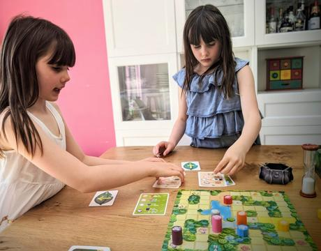 Les filles ont compris le concept de Magic Maze Kids !