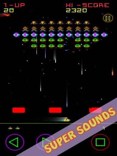 Télécharger Gratuit Plasma Invaders (Classic Arcade Space Game) APK MOD (Astuce) 5