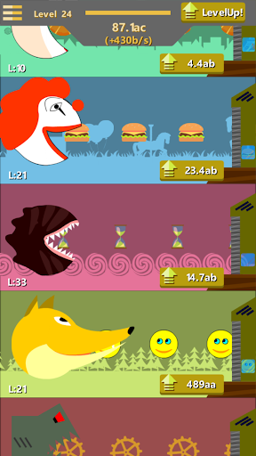 Télécharger OmNomNom Tycoon: Idle Eaters APK MOD (Astuce) screenshots 2
