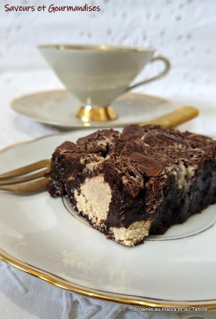 Brownie à la Halva et au Tahiné d'Ottolenghi.