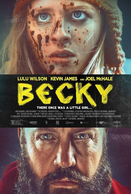 Affiche US pour le thriller Becky de Cary Murnion et Jonathan Milott