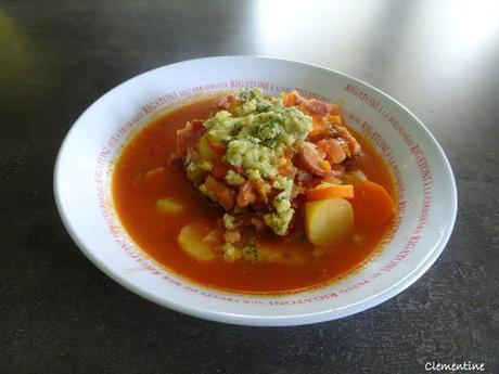 Stufato di patate - Soupe italienne de pommes de terre par Gennaro Contaldo