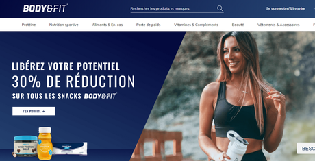 Body and fit : boutique en ligne de nutrition sportive | avis & avantages