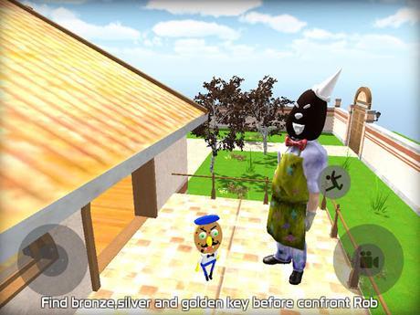 Code Triche Scary Scream Neighbor Sponge Night APK MOD (Astuce) 4