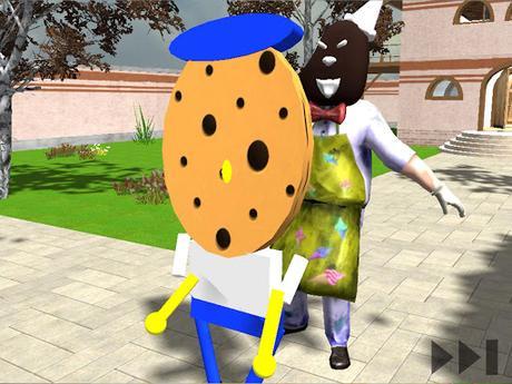 Code Triche Scary Scream Neighbor Sponge Night APK MOD (Astuce) 5
