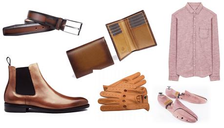 Idées cadeaux pour homme Saint-Valentin - look citadin brown