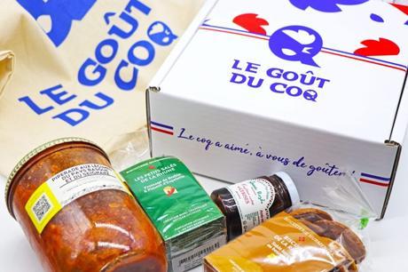 box gastronomique Made In France Le goût du coq