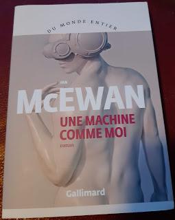 Une machine comme moi - Ian McEwan ***