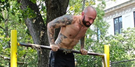 MUSCLE UP DIPS