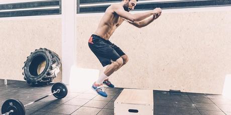 plyo box routine endurance