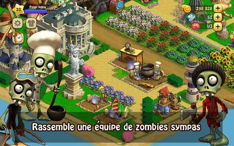 argent gratuit pour jeux zombie castaways