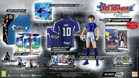 Captain Tsubasa: Rise of New Champions – Les éditions collector – Sortie le 28 août