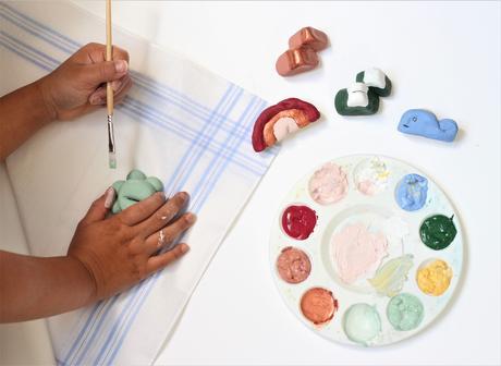 fabriquer soi-même objet pâte à sel activité bricolage anniversaire enfant