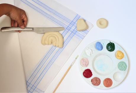 bricolage enfant petite fille grand-mère création - blog diy déco - clem around the corner