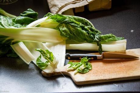 Pâtes du weekend – Zita tagliati aux blettes (Pasta con bietole)