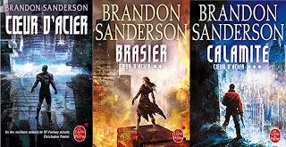 COEUR D'ACIER, INTEGRALE de Brandon Sanderson