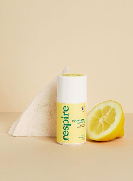 Déodorant Naturel Citron Bergamote, Respire