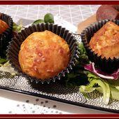 Muffins Chorizo et Comté - Oh, la gourmande..