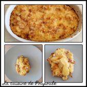 Pommes de terre à la carbonara gratinées - La cuisine de poupoule