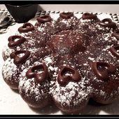 Cake au chocolat sans beurre - Oh, la gourmande..