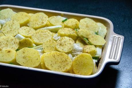 Cuisson longue – Mon gratin dauphinois (blettes et pommes de terre)