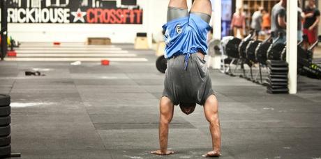 handstand walk crossfit wod