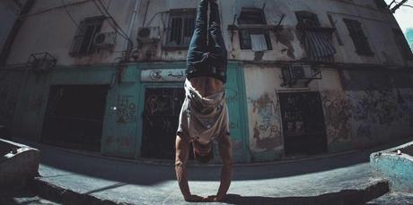 handstand street workout calisthenics