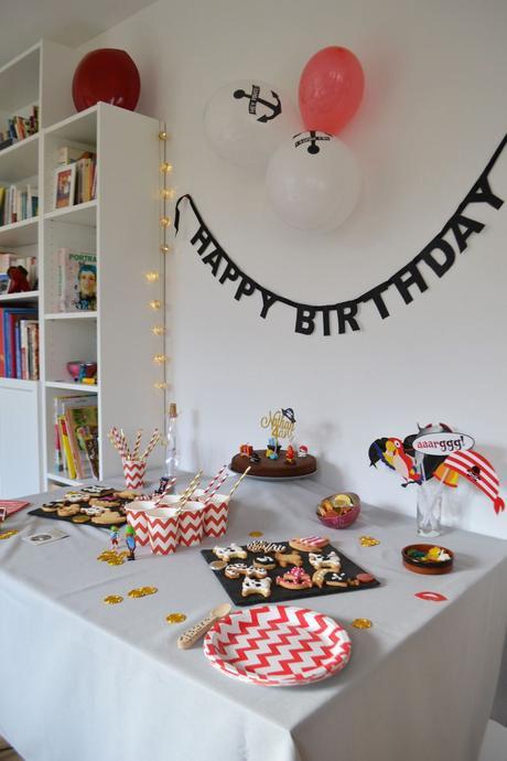 decoration anniversaire pirate