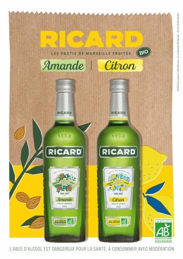 Ricard lance sa gamme de pastis bio
