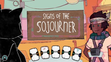 Signs of the Sojourner, jeu de carte narratif sur Steam