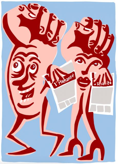 31/05/2020 – DÉCONFINEMENT JOUR J+20. Le petit cadeau de la Section…L'INTERNATIONALE sous toutes ses formes. Aujourd'hui « Version française avec des illustrations sur les événements de la Commune de Paris, en 1871″… puis comment s'abonner à « L'HUMA »...