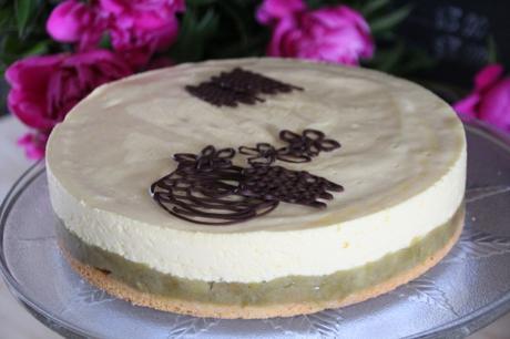 tarte, biscuit, rhubarbe,crème chiboust